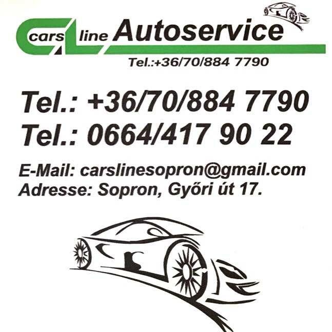Autóbérlés, Autószerviz Sopron - Carsline Kft.